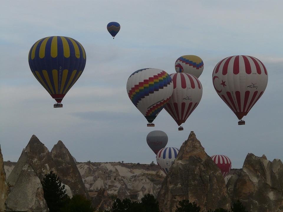 Parque nacional Göreme de Turquía