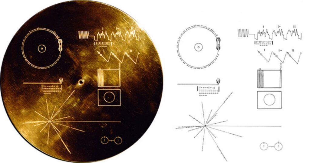 Disco de oro del Voyager