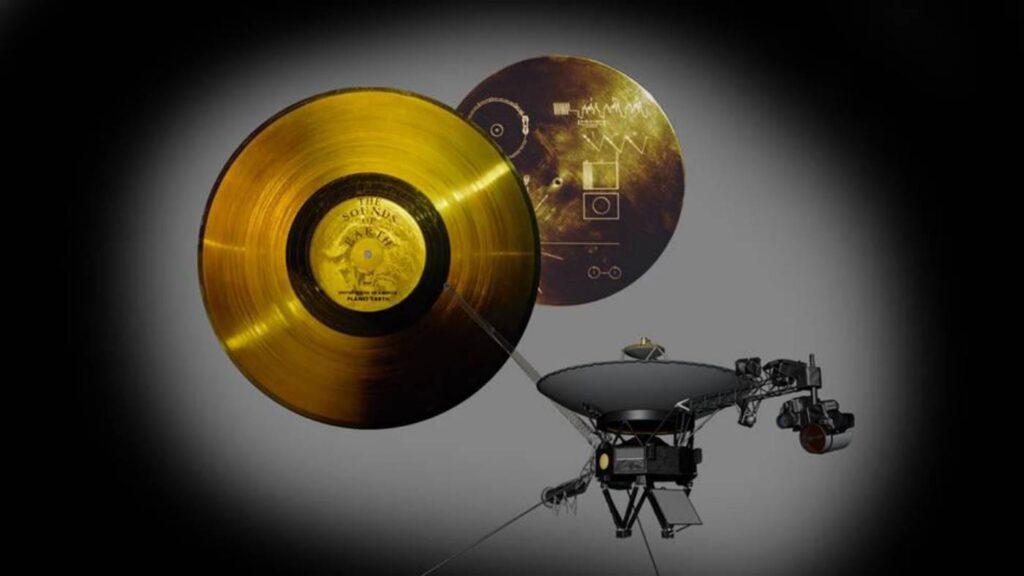Disco de oro y Voyager